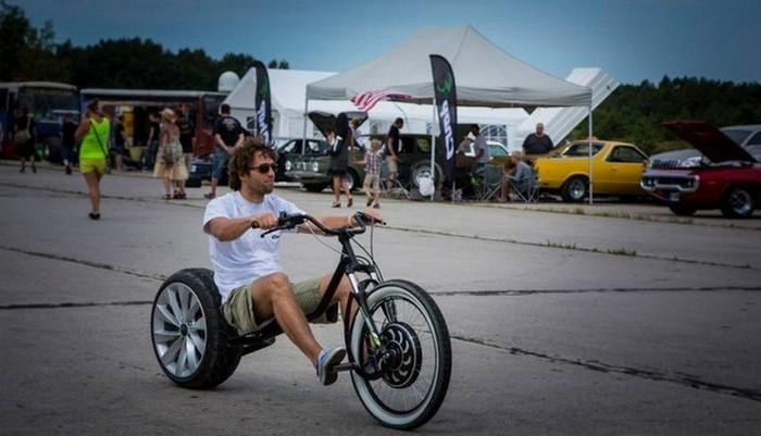 Электрический скутер Chop-E.