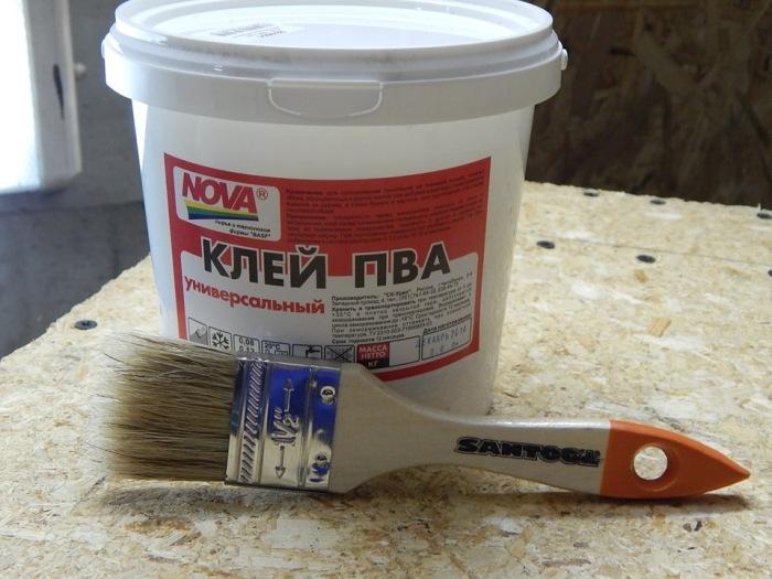 Клей ПВА - отличный пластификатор. ¦Фото: drive2.ru.