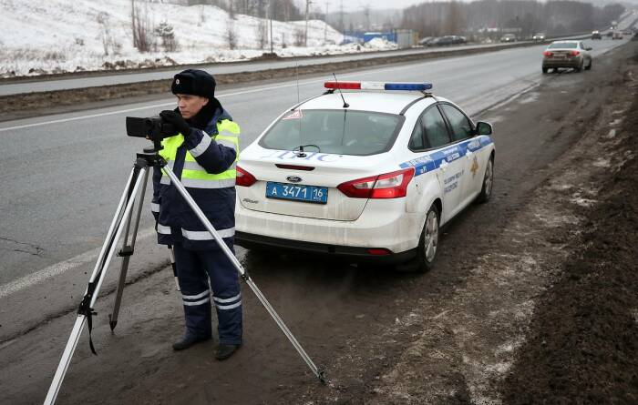 Полиция неустанно бдит. |Фото: tass.ru.