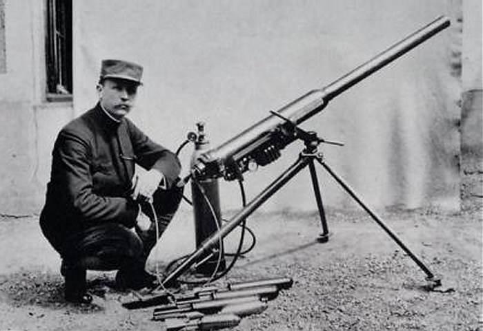 Появлялось все больше видов оружия. |Фото: popgun.ru.