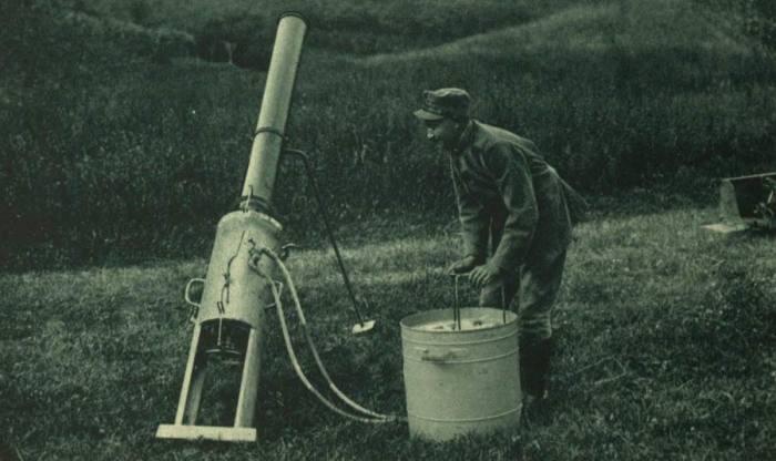 Последний раз такие пушки применялись в Первую мировую войну. |Фото: twitter.com.