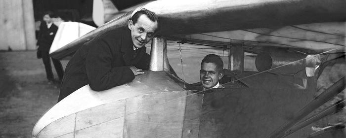 Создателем конструкции был Мартин Липпиш (слева). |Фото: historynet.com.