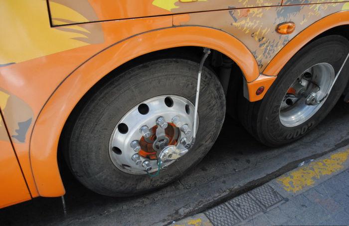 Не только на грузовиках и фурах. |Фото: turbina.ru.
