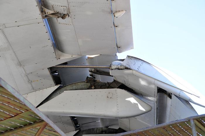 Обтекатели прикрывают элементы механизации крыльев. |Фото: drive2.ru.