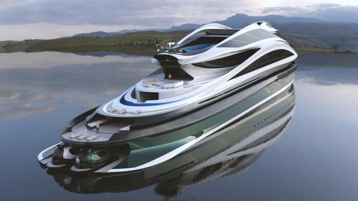 Яхта для богачей. ¦Фото: ya.ru.