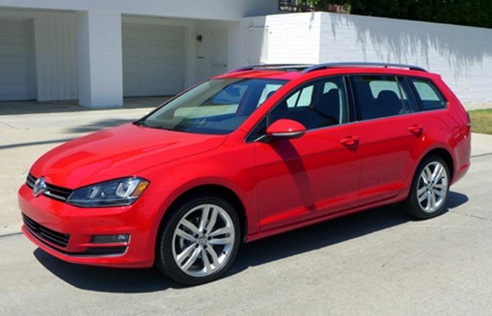 Volkswagen Golf Sportwagen TSI SEL - для семьи и компании друзей.