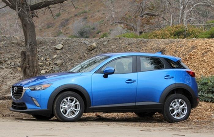 Mazda CX-3 - автомобиль для поборников экологии.