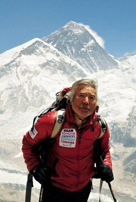 Эверест покорился 80-летниму Юичиро Миура.