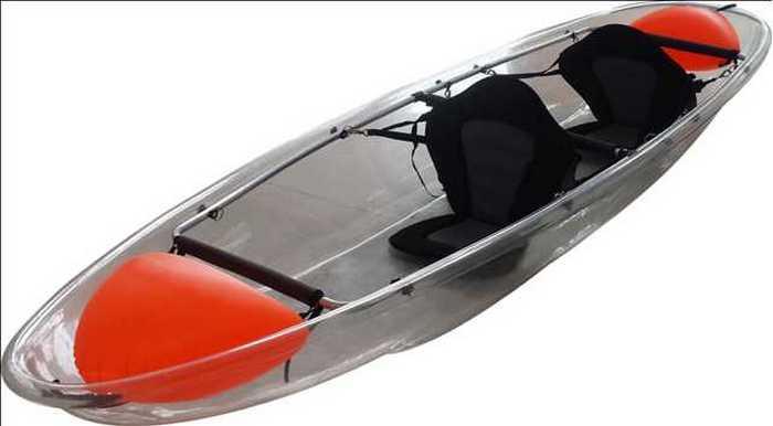 Transparent Canoe Kayak: всё для удовольствия и безопасности.