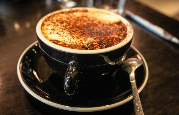 Кофе из угля.