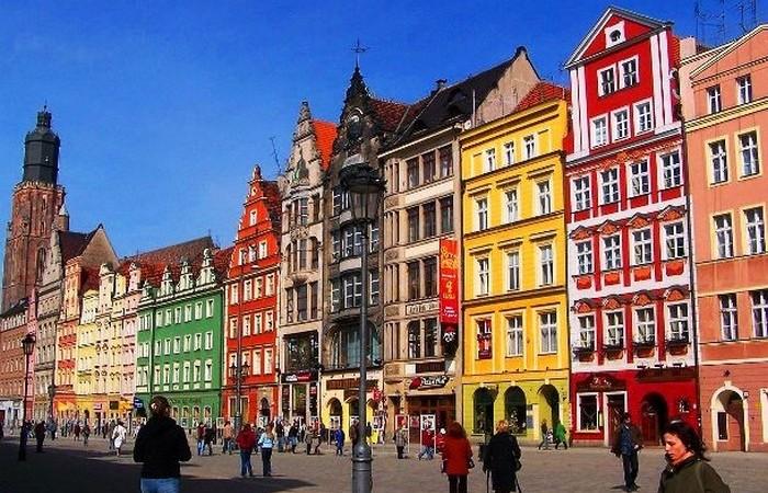 Вроцлав - четвертый по величине город Польши.