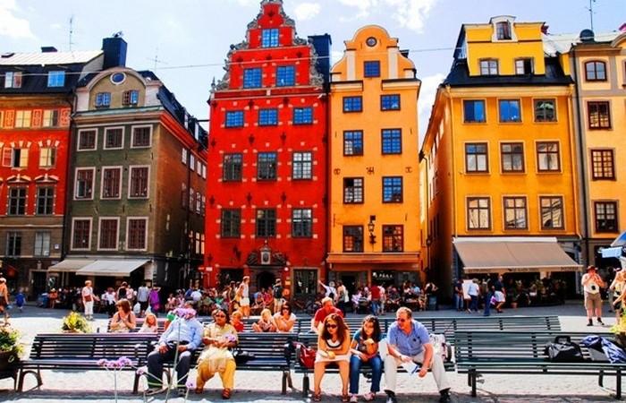 Стокгольм - самый густонаселенный город Северной Европы.