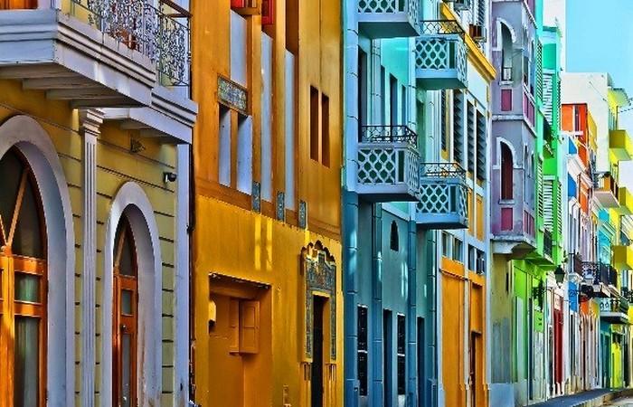 Олд Сан-Хуан - самое старое поселение Пуэрто-Рико.