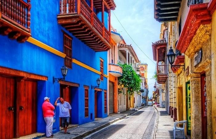 Картахена - пятый по величине город в Колумбии.