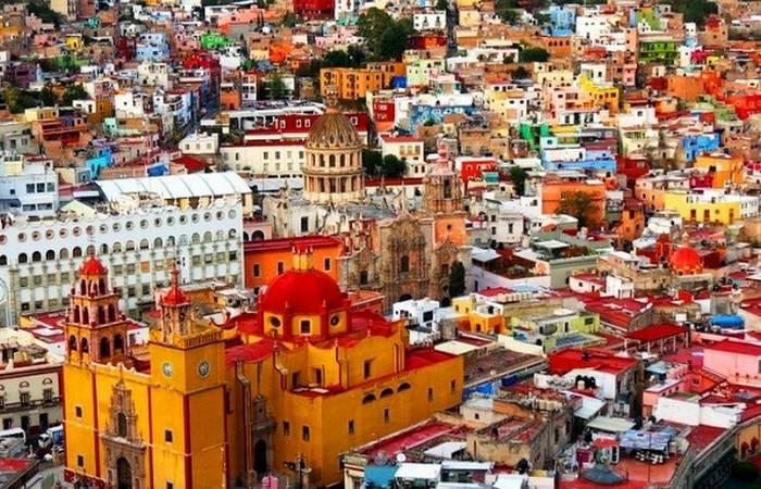 Гуанахуато - город в центральной Мексике.