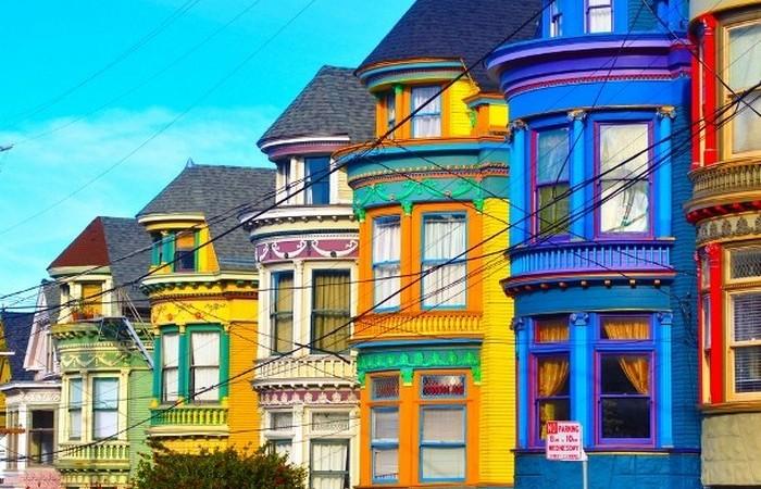 Сан-Франциско - эклектика и многоцветие.