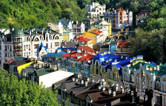 Киев, Подол, Воздвиженка.
