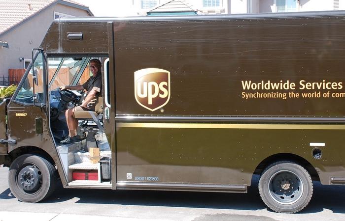 UPS в Германии.