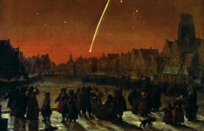 Большая комета 1680 года.