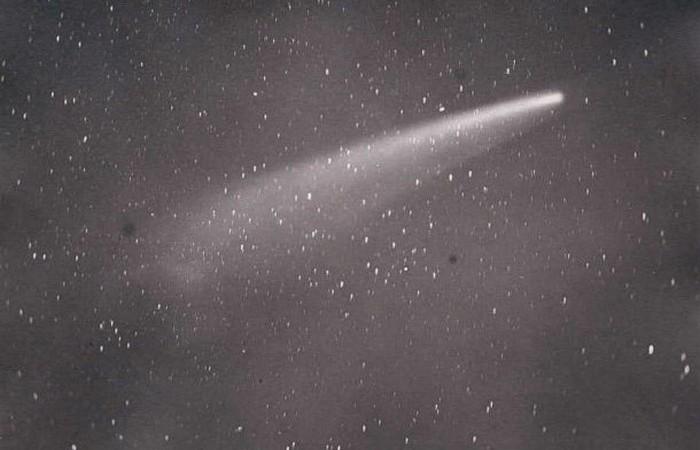 Большая сентябрьская комета.