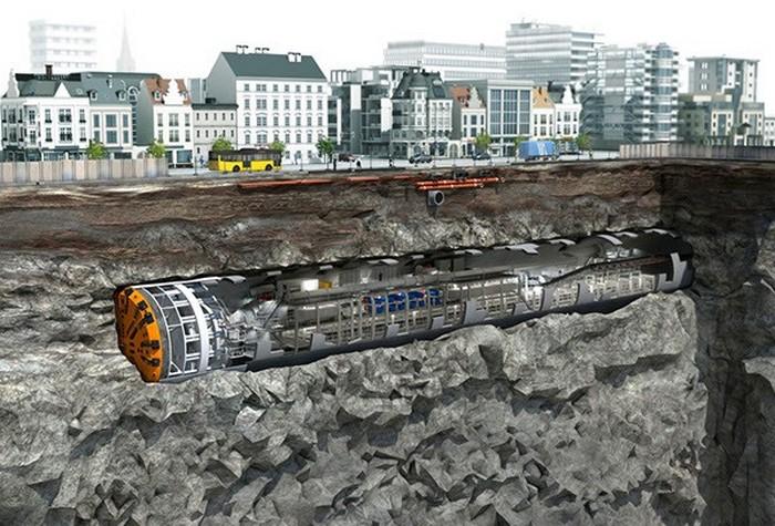 Строительство дорог по проекту Илона Маска.