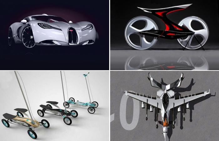 10 концептуальных транспортных средств 2014 года.