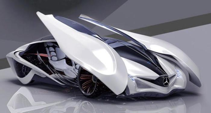 Dolphin concept car.