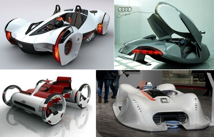 Умопомрачительные автомобильные концепты.
