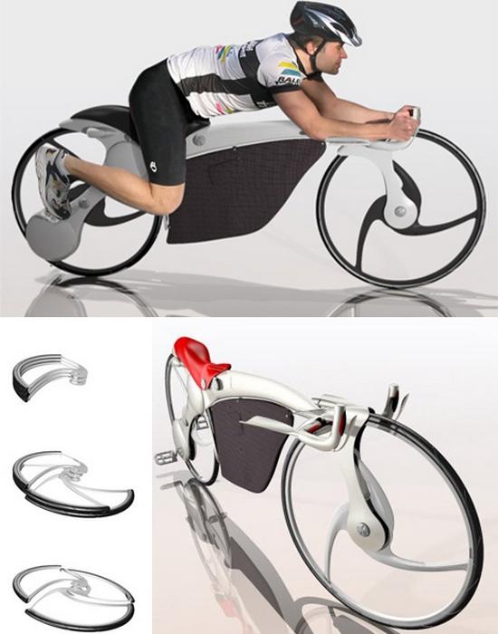 Концепт велосипепеда: Collapsible Bike.