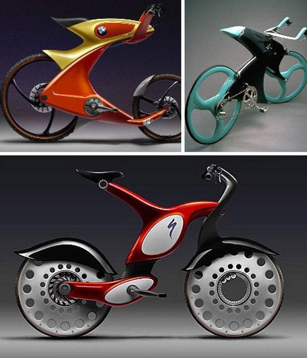Концепт велосипепеда: BMW Concept Bikes.