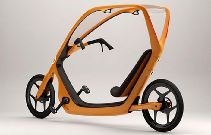 Концепт велосипепеда: All-Weather Bicycle.
