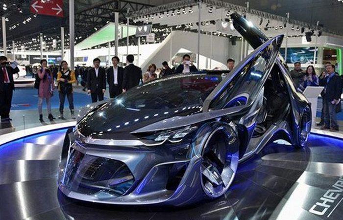 Футуристический концепт «Chevrolet FNR».