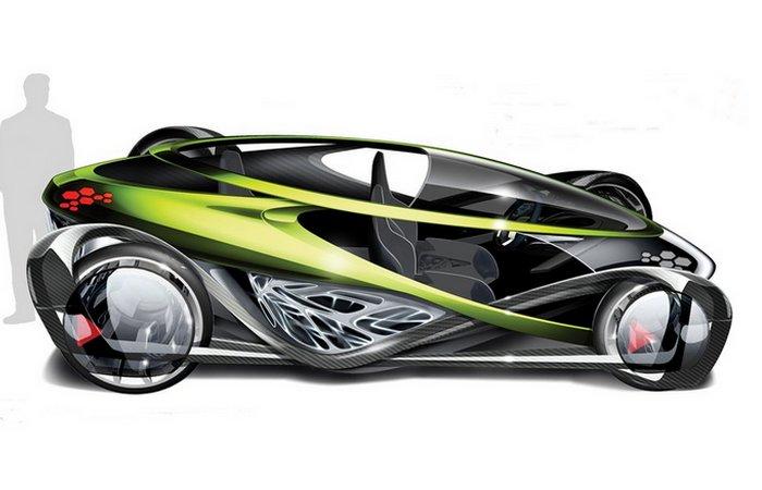 Футуристический концепт «Toyota Nori».