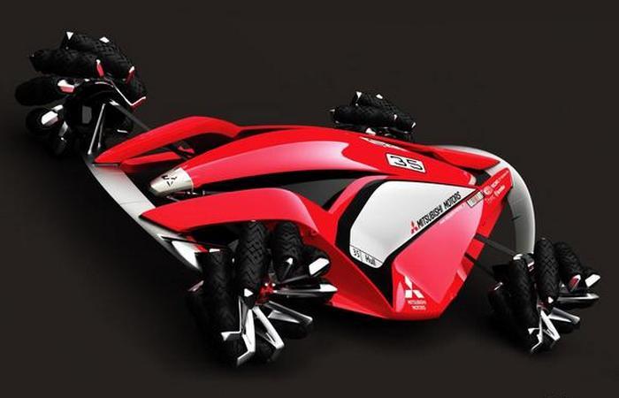Футуристический концепт «Mitsubishi MMR25».