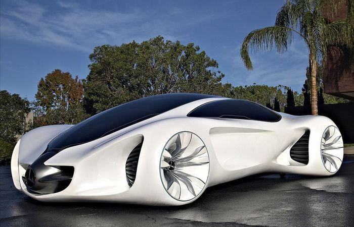 Футуристический концепт «Mercedes Benz BIOME».