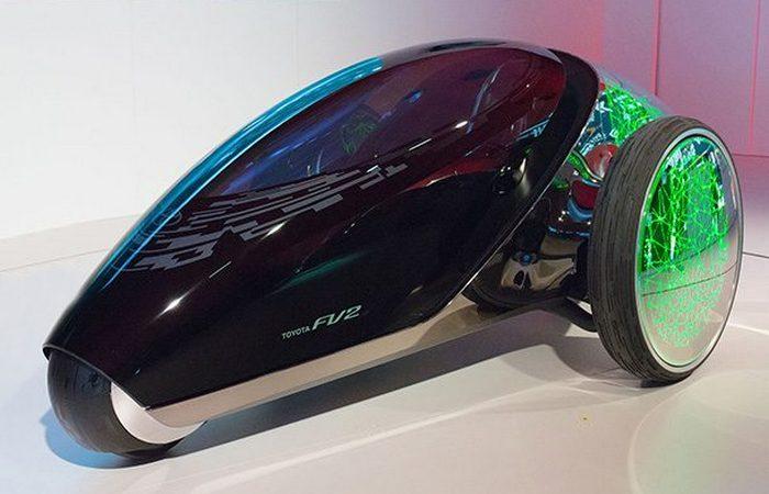 Футуристический концепт «Toyota FV2».