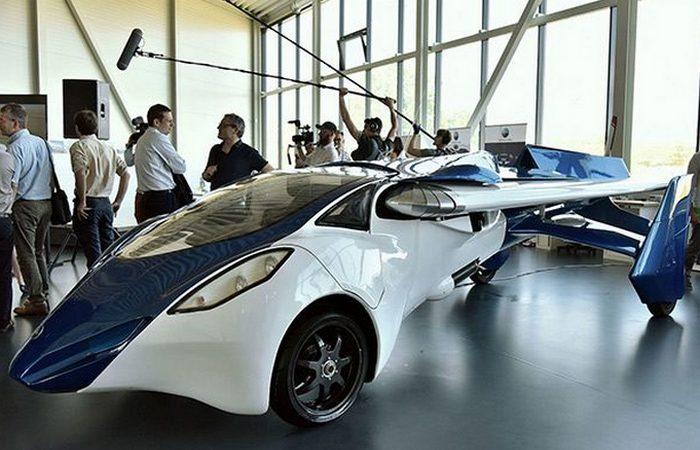 Футуристический концепт «AeroMobil 3.0».