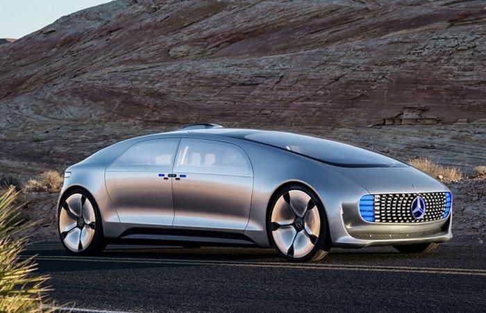 Футуристический концепт «Mercedes-Benz F 015».