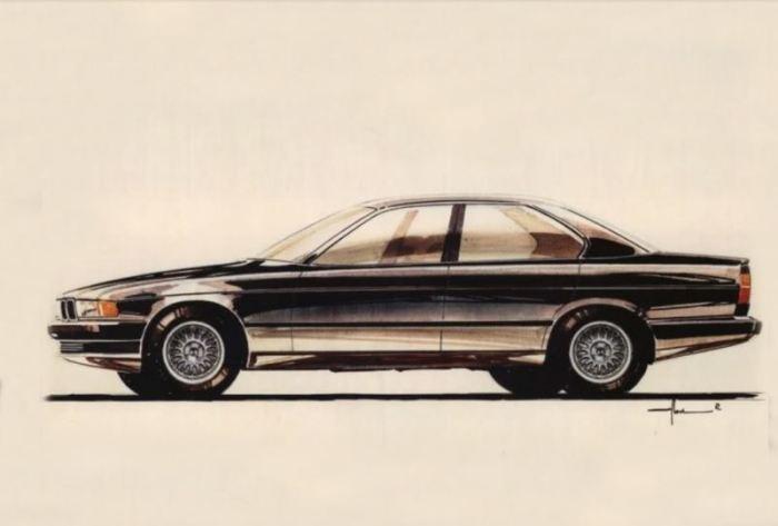 BMW 5 серии могла быть вот такой.