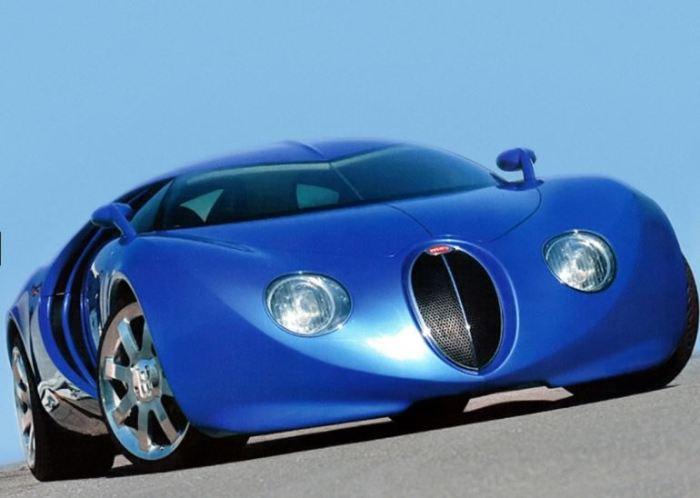 Кое-что все-таки вобрал в себя релизный вариант Bugatti Veyron