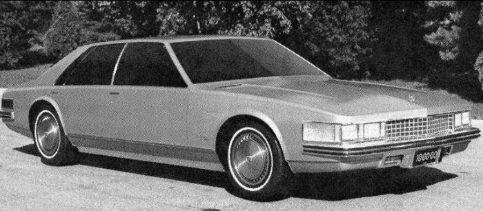 Этот вариант Cadillac Seville все-таки приняли, но позже.