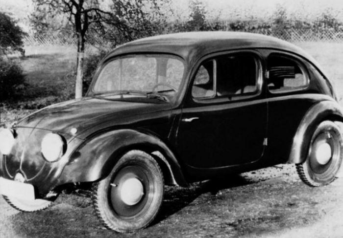 Знаменитая история с Volkswagen Kafer.