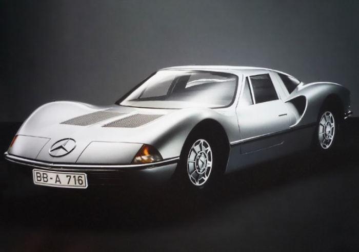 Даже у не серийного Mercedes C-111 была куча моделей.