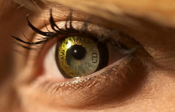 Линзы «The Dior Eyes».