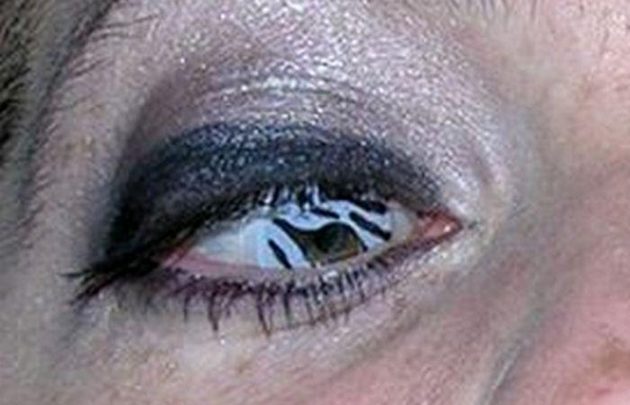 Линзы «Eyes wild Zebra».