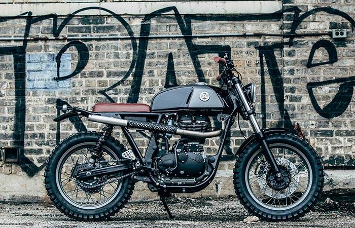 Royal Enfield & Analog Motorcycles.