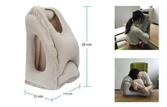 Повышает продуктивность: надувная подушка Homesky.