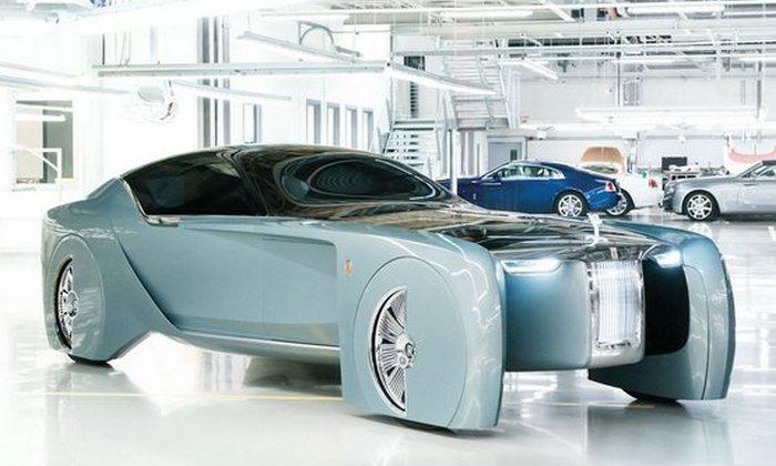 Автомобиль Rolls-Roysе 103EX.