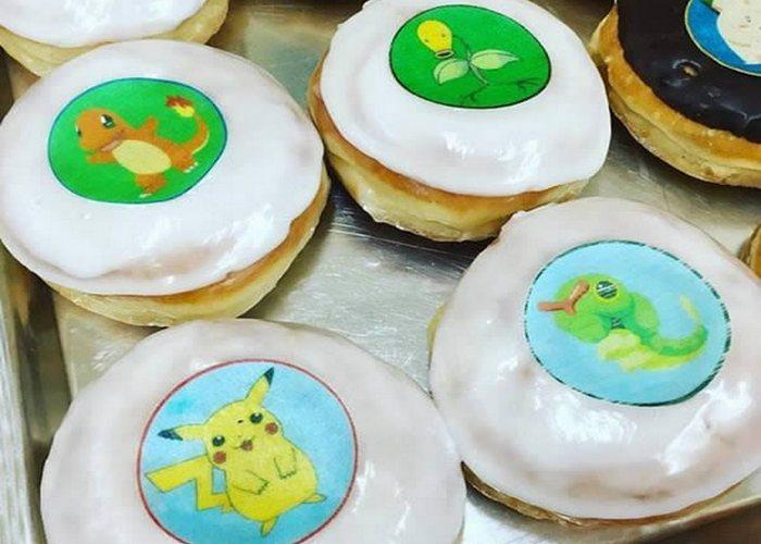 Необычно и вкусно: пончики Pokemon Go.