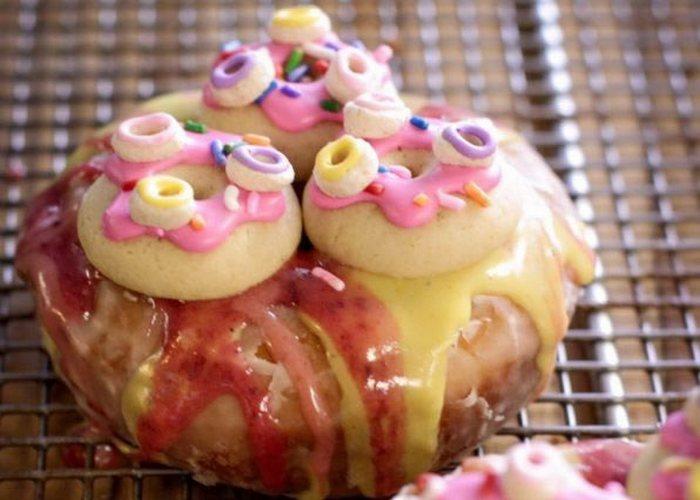 Необычно и вкусно: пончик «Изначальный».